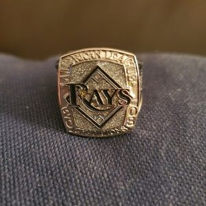 Official Ray's diamond shattered AL champion ring